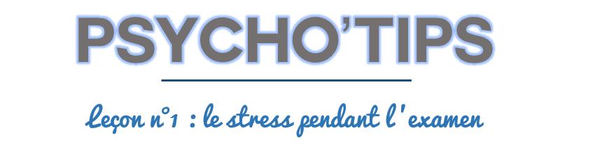 psychométrique : gérer son stress